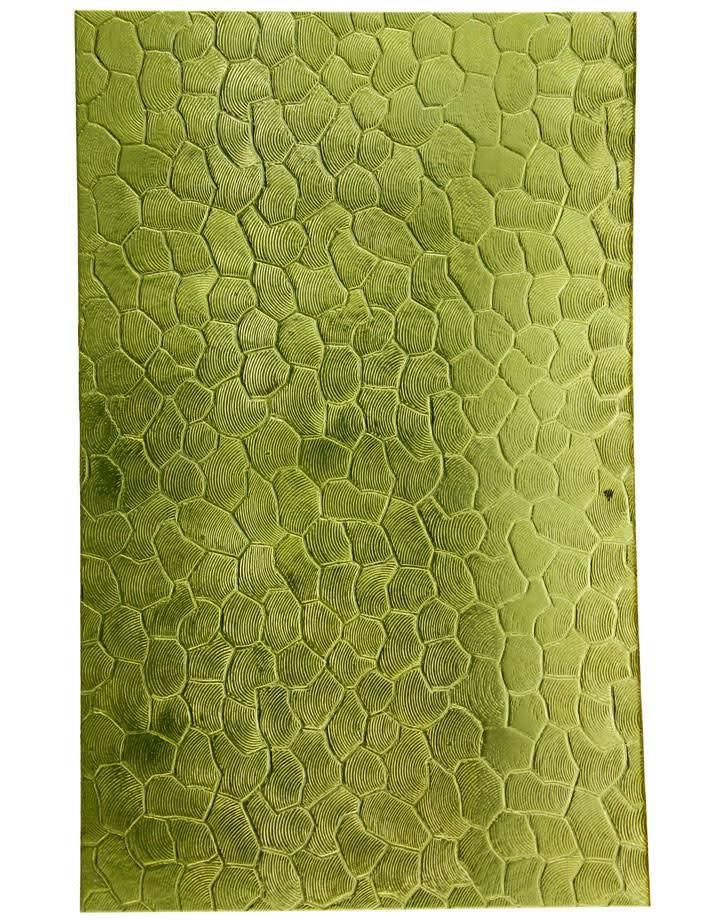 """BSP260 Patterned Brass Sheet 2-1/2"""" Wide"""