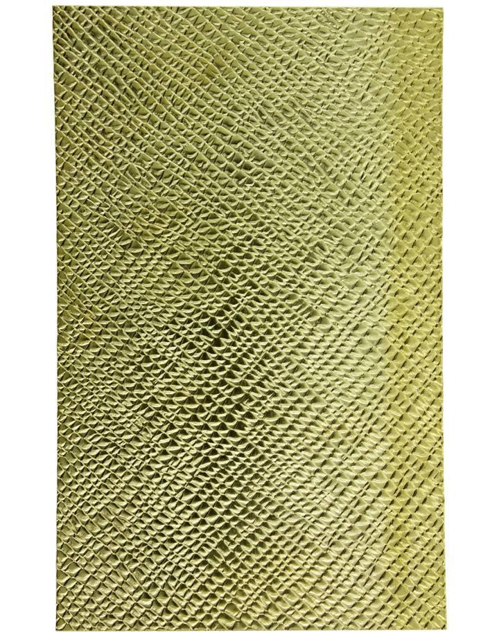 """BSP263 Patterned Brass Sheet 2-1/2"""" Wide"""