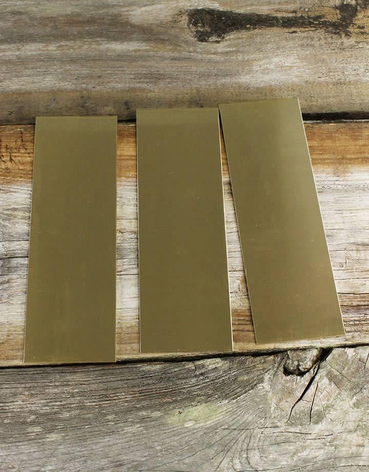 BS22 Red Brass Sheet 22ga (Choose Size)
