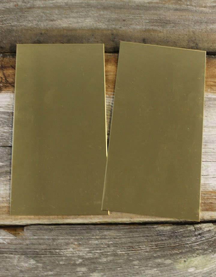 BS20 Red Brass Sheet 20ga (Choose Size)