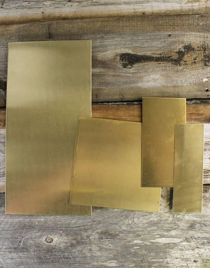 BS18 Red Brass Sheet 18ga (Choose Size)