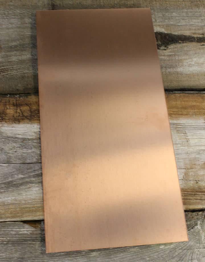 CS22 Copper Sheet 22ga (Choose Size)