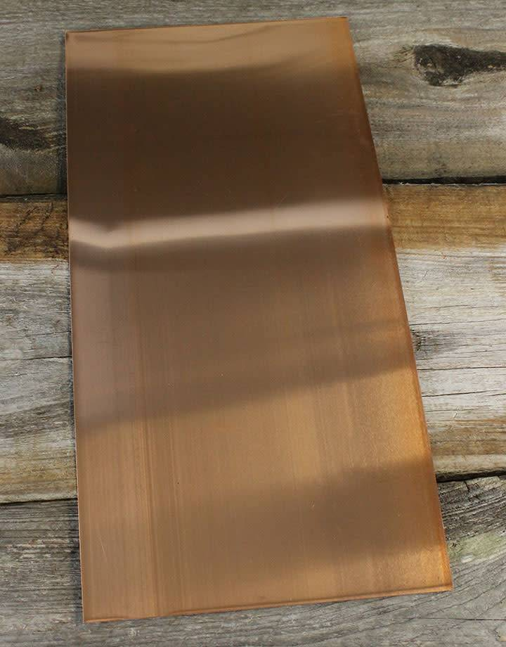 CS28 Copper Sheet 28ga (Choose Size)