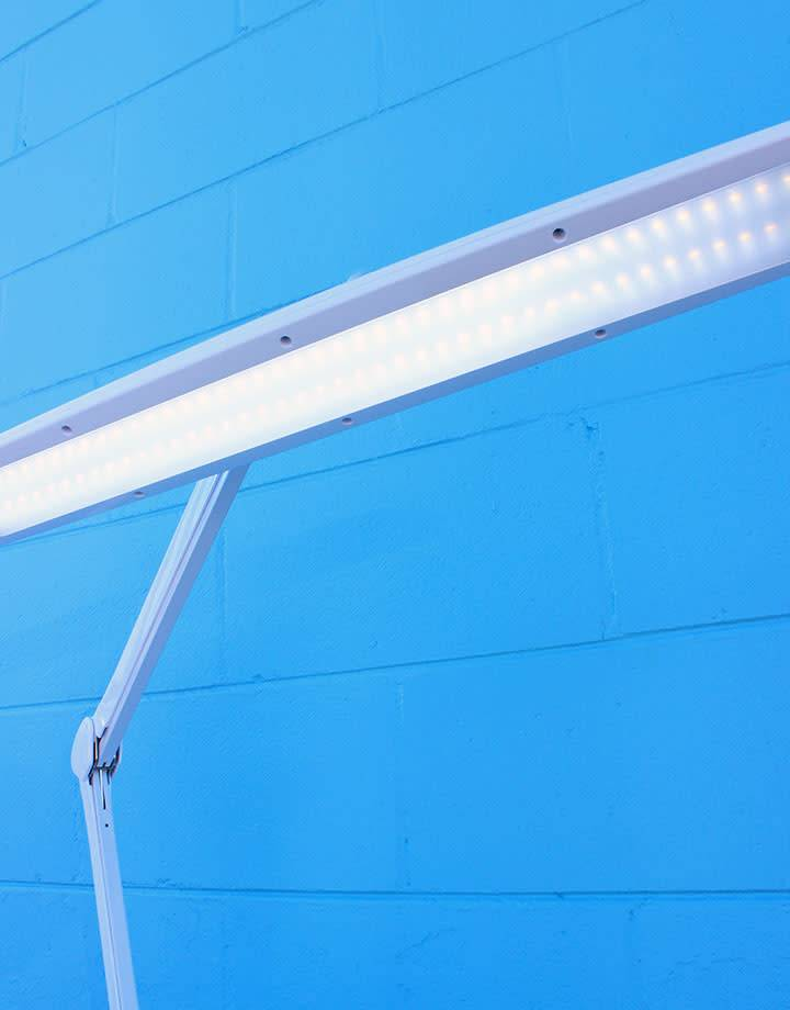 13.109 = LED Bench Lamp with Dimmer Switch