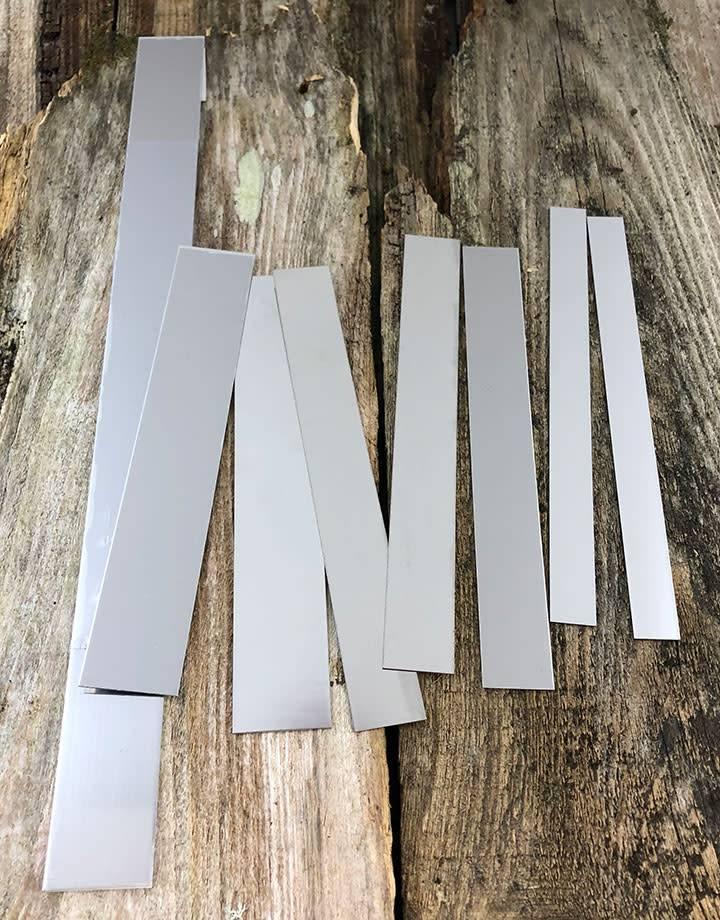 LS26 Stainless Steel Strips 26ga (Choose Size)
