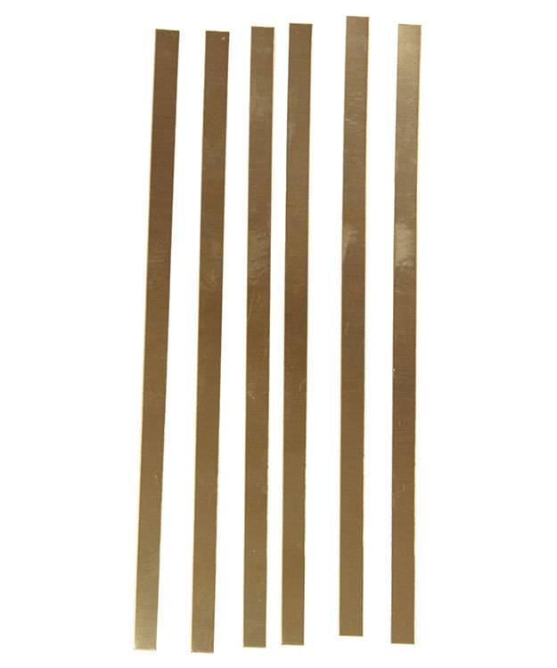 BS28 Red Brass Strips 28ga (Choose Size)