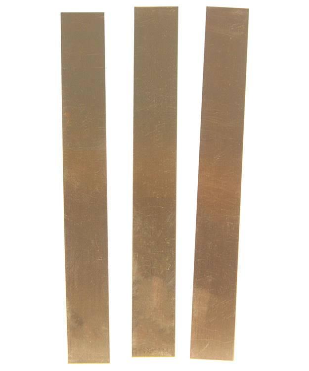 BS22 Red Brass Strips 22ga (Choose Size)