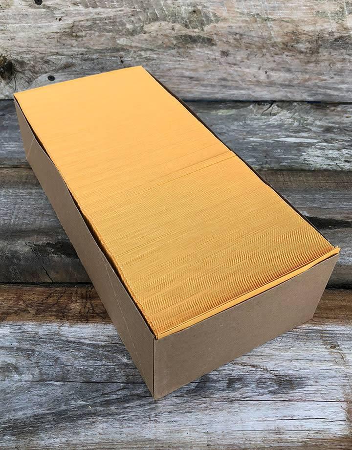 61.114 = Brown Paper Envelope 5-1/2'' x 3-1/8'' (Box of 500)