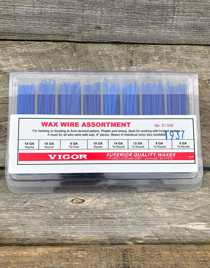 21.530 = WAX WIRE ASSORTMENT