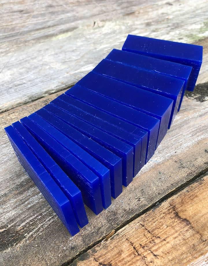 Du-Matt 21.02772 = DuMatt Blue Carving Wax Slices (1lb)
