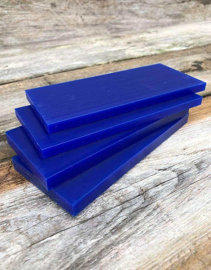 Du-Matt 21.02781 = DuMatt Blue Carving Wax Tablets Set of 4