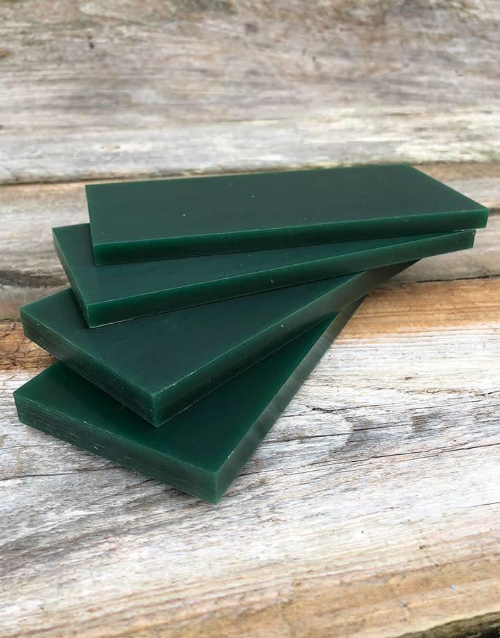 Du-Matt 21.02783 = DuMatt Green Carving Wax Tablets Set of 4