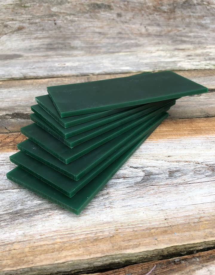 Du-Matt 21.02786 = DuMatt Green Carving Wax Tablets Set of 8