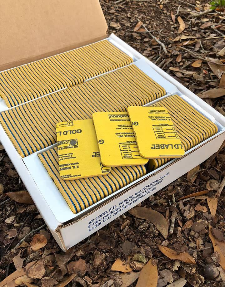 Castaldo 22.586 = Mold Rubber Gold Label Ready Cut Castaldo