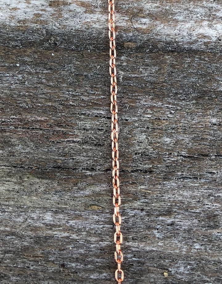 800CU-07 = COPPER CHAIN 1.5mm DRAWN CABLE (FOOT)