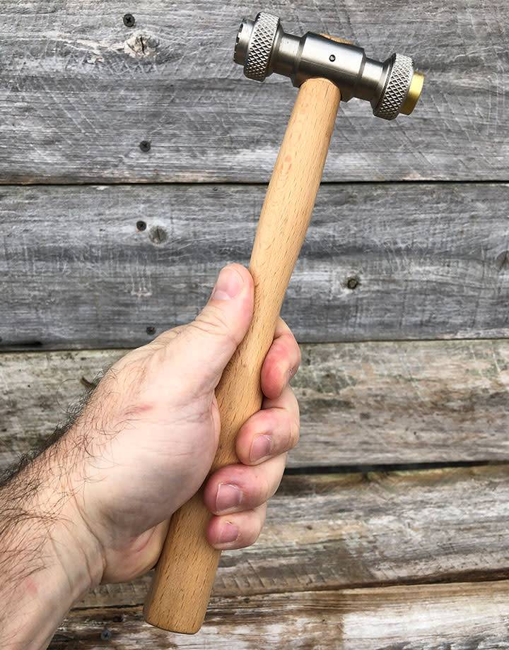 HA4650 = Texturing Hammer with 12 Interchangable Faces