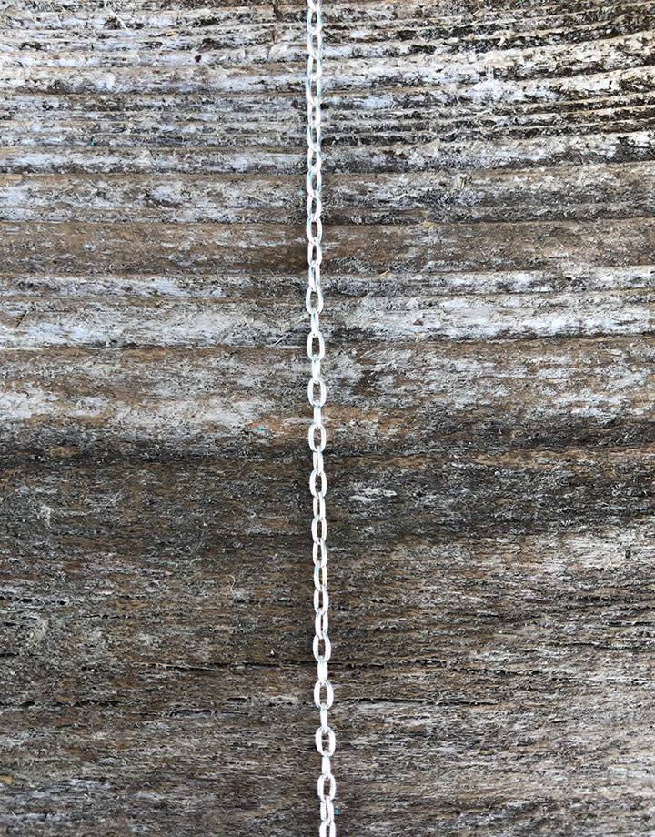 800SF-06 = SILVER FILLED 1.5mm DRAWN CABLE CHAIN