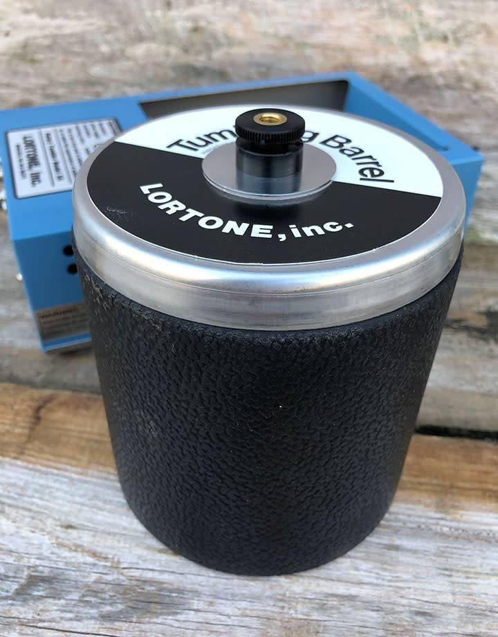 TM1003 = Lortone 3A Single Barrel Rotary Tumbler