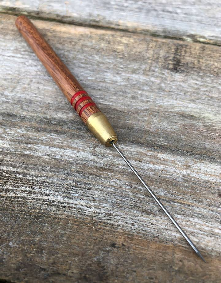 54.772 = Tungsten Solder Pick with Wood Handle