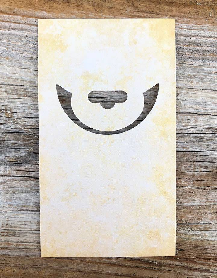 DCH054 = Easy Foldover Hangtag Punch for Cards