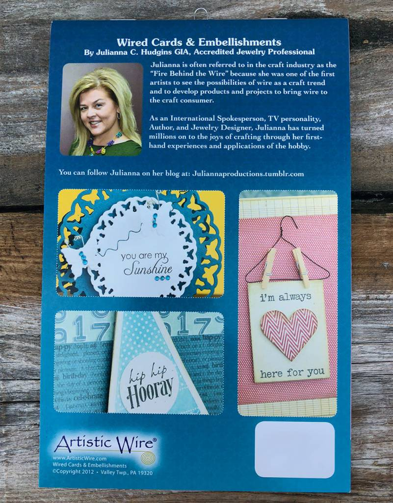 BK5373 = BOOK - ARTISTIC WIRE-WIRED CARDS & EMBELLISHMENTS