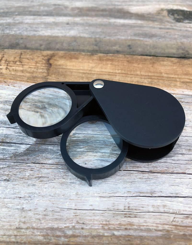 EL7006 = Economy Magnifying Dual Lens Loupe 7.75X & 7.75X