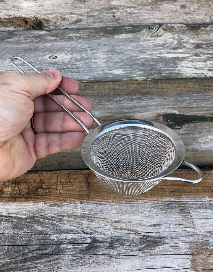 CL5801 = ULTRASONIC BASKET 3'' MESH  W/STEEL HANDLE