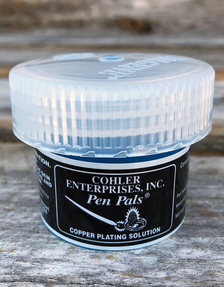 45.417 = Pen Plating Solution Copper 2oz Jar