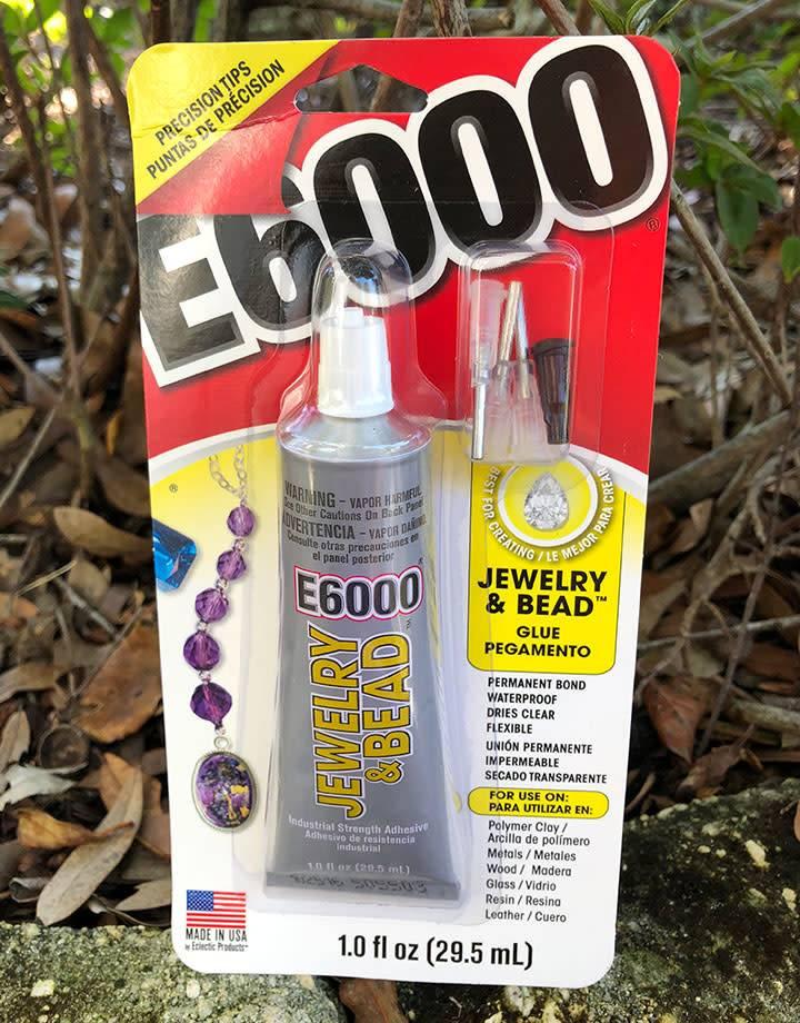CE6007 = E6000 Glue - 1oz Tube with Precision Tips