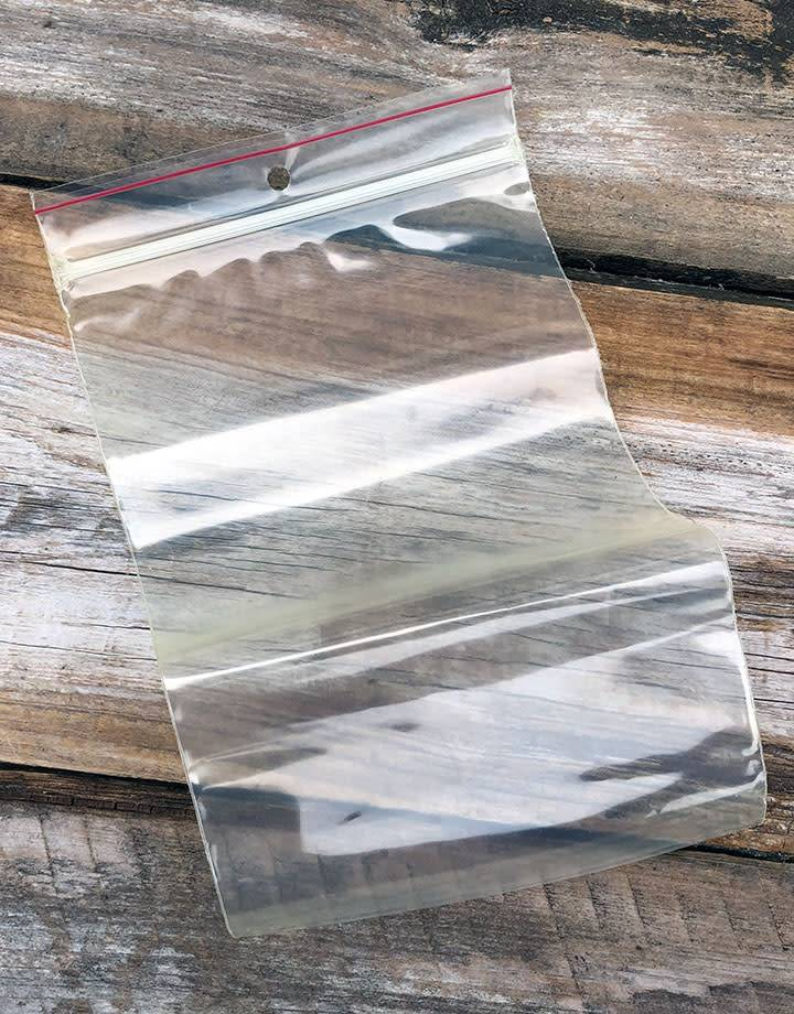 MiniGrip 5x8 4mil Recloseable Bags with Hang Hole (Pkg of 100) **CLOSEOUT**