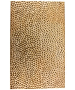 """CSP202 Patterned Copper Sheet 2-1/2"""" Wide"""