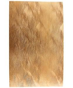 """CSP239 """"Fingerprint"""" Patterned Copper Sheet 2-1/2"""" Wide"""