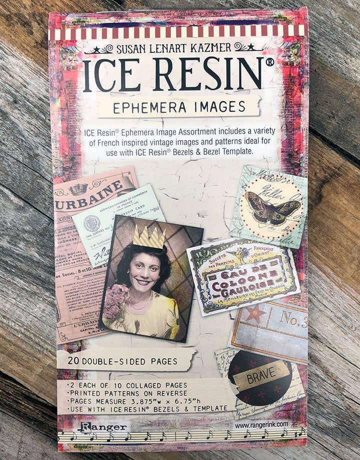 CE756 = Ice Resin Ephemera Image Assortment
