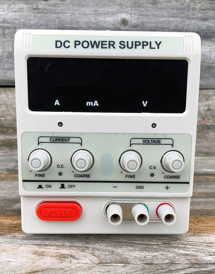 PM850 = Digital 5 Amp Rectifier for Plating & Electroforming