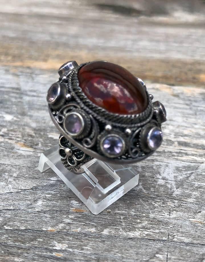DRG901 = Plastic Ring Clip (Pkg of 50)