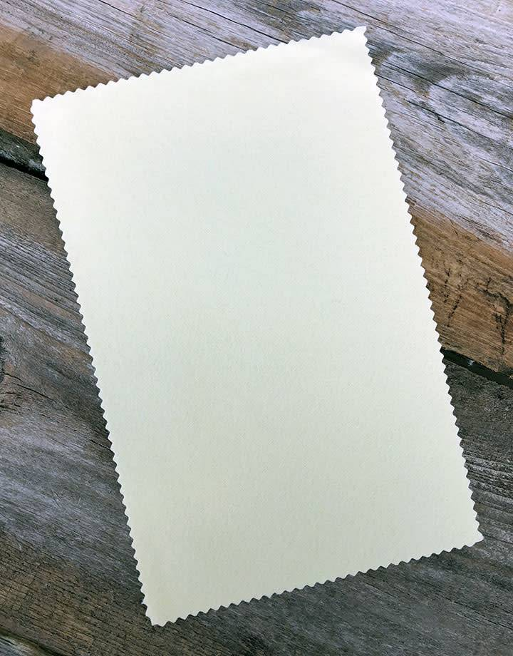 PS6501 = Sunshine Yellow Polishing Cloth 7-1/2'' x 5''  (Pkg of 3)
