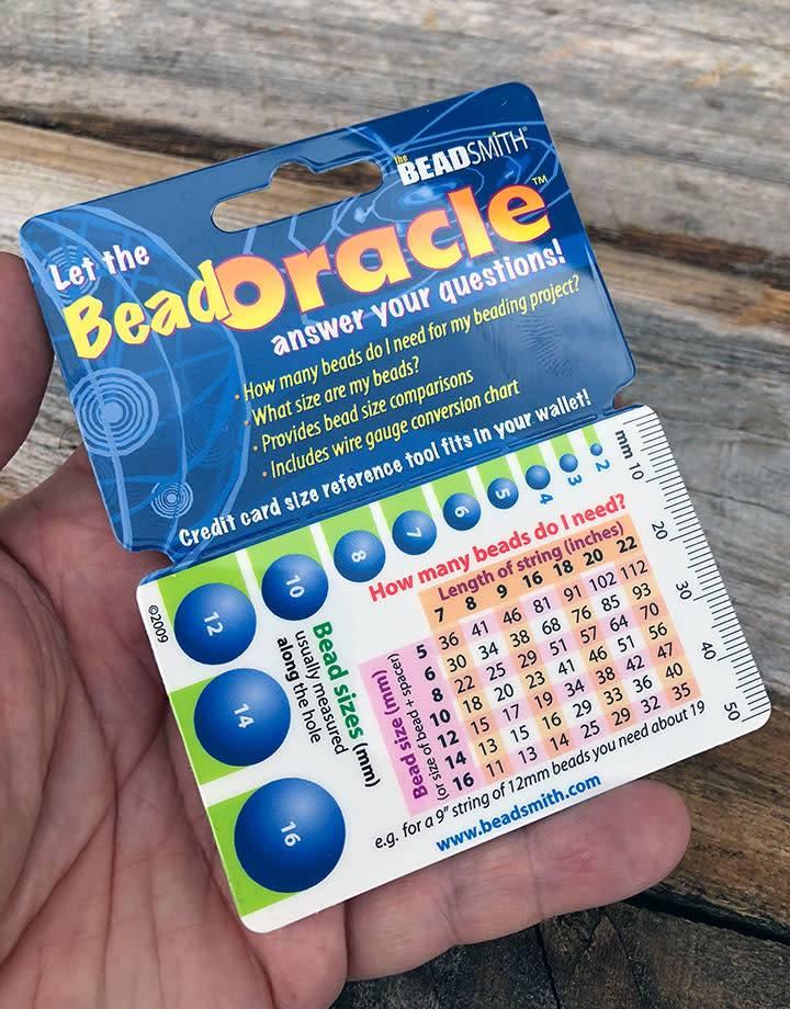 GA2605 = BEAD ORACLE BEADING INFORMATION CARD