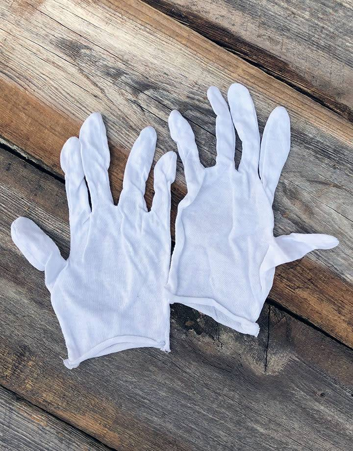 17.103 = Cotton Gloves Lightweight Small (Pkg of 12 pieces)