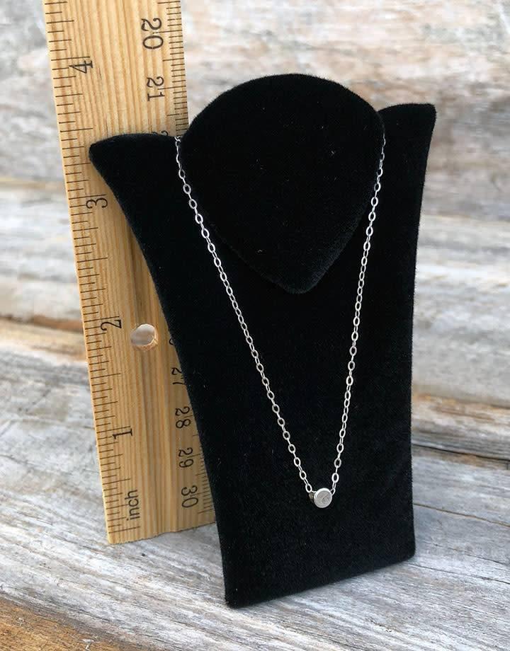 DCH1771 = Black Value Velvet Padded Chain Easel 3'' x 3-7/8''H  (Pkg of 3)