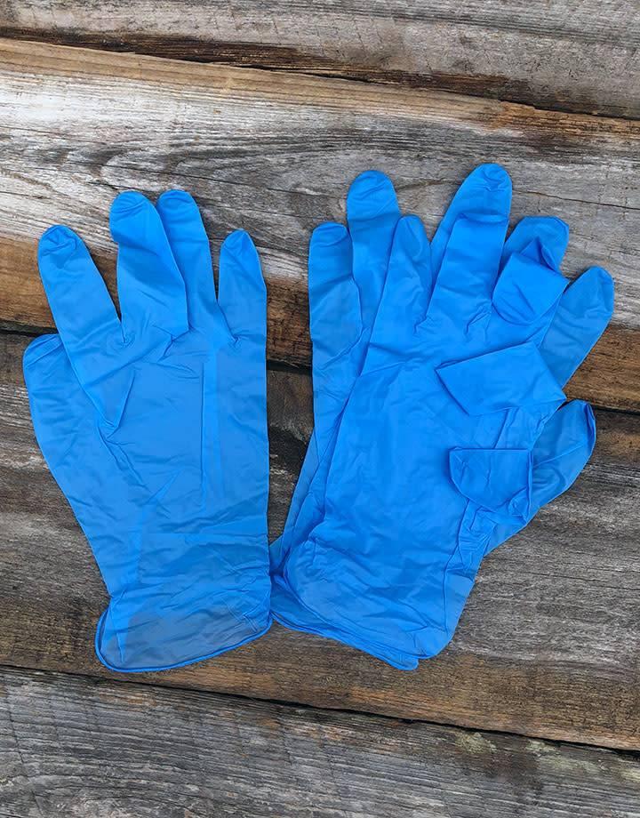 ET1006-02 = General Purpose Nitrile Gloves (Medium - 2 pair)