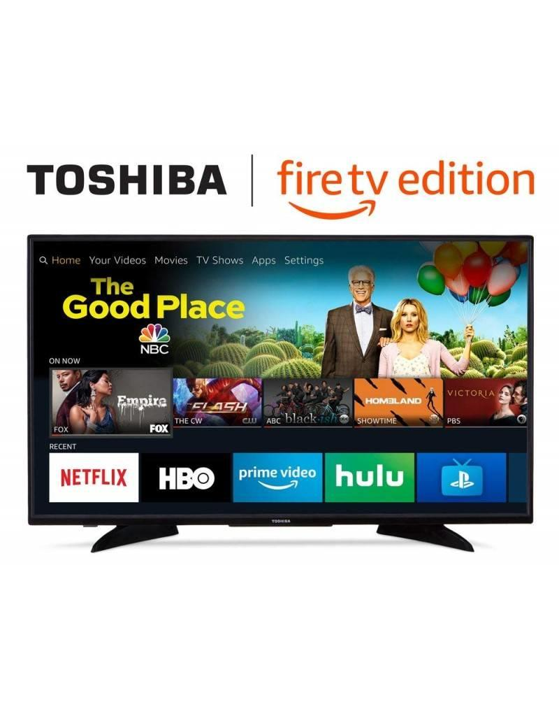 Toshiba 43-Inch, Toshiba, LED, 2160P, 60Hz, 4K, HDR, Smart, FireTV, 43LF621U19