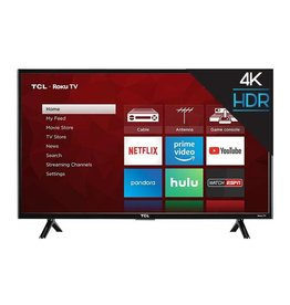 TCL 43-Inch, TCL, LED, 2160P, 120Hz, 4K, HDR, Roku Smart, 43S403