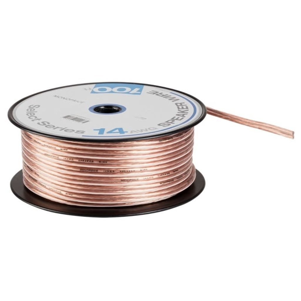 Select Series 14AWG, Speaker Wire, 100ft