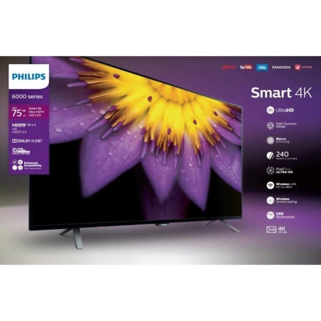 Philips 75-Inch, PHILIPS, LED, HDR, 4K, Smart, 75PFL5603/F7
