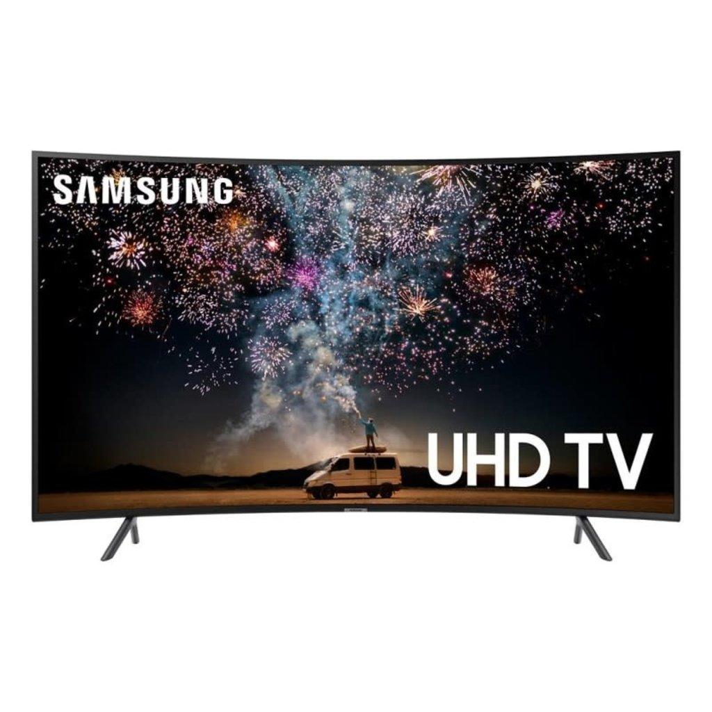 Samsung 65-Inch, SAMSUNG, 4K, HDR, Smart, Curved, UN65RU730DF