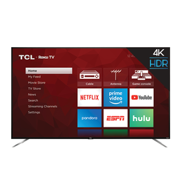 TCL 75-Inch, TCL, LED, HDR, 4K, Smart, 75S423