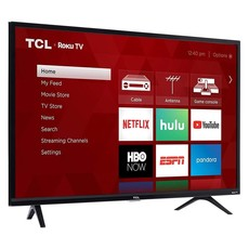 TCL 32-Inch, TCL, LED, 720P, Roku, Smart, 32S325, NEW