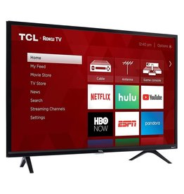 TCL Early Black Friday Sale! 32-Inch, TCL, LED, 720P, Roku, Smart, 32S325, NEW