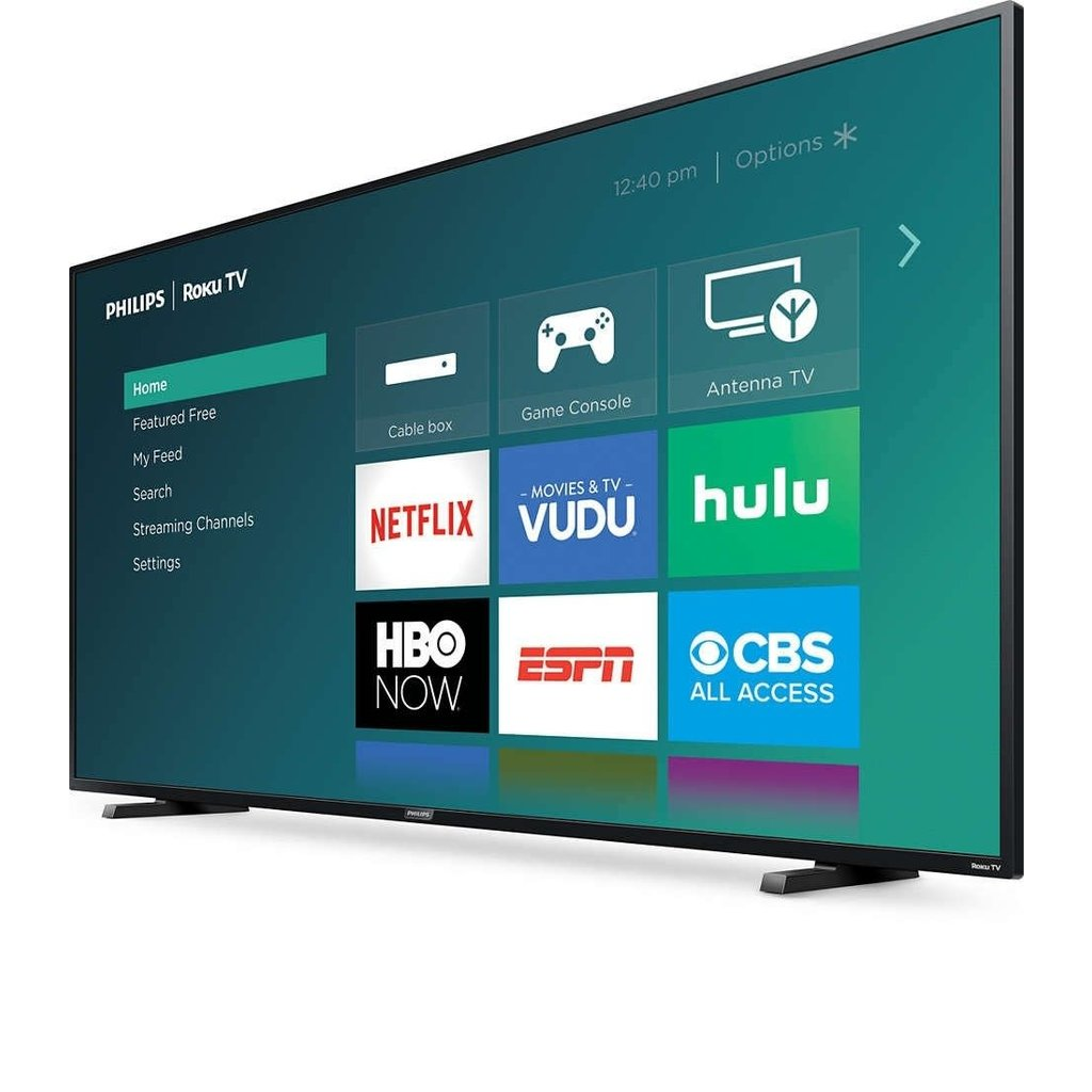 Philips Early Black Friday Sale! 65-Inch, PHILIPS, LED, 4K, HDR, Smart, Roku, 65PFL4864/F7, NEW