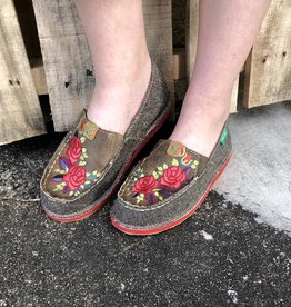 1d830ed4d7f Twisted X Women s ECO TWX Driving Moc Loafer – Dust Red Flower